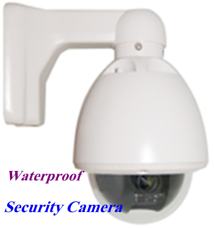 "Hottest Effio-e 18X Optical Zoom 1/3"" Super HAD II Sony CCD 700TVL Weatherproof Outdoor IP66 Speed Dome Camera Free Shipping(China (Mainland))"