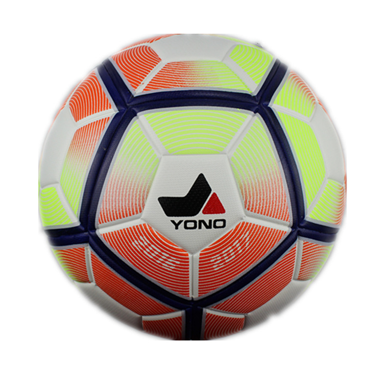 2016 New High Quality Football Ball Machine Stitch Soccer Balls PU Granules Slip-resistant Size 5 Trainning Match Balls(China (Mainland))