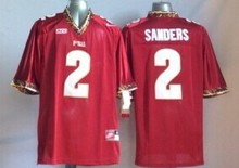 2016 new arrivals,high quality,Florida State Seminoles FSU Deion Sanders(China (Mainland))