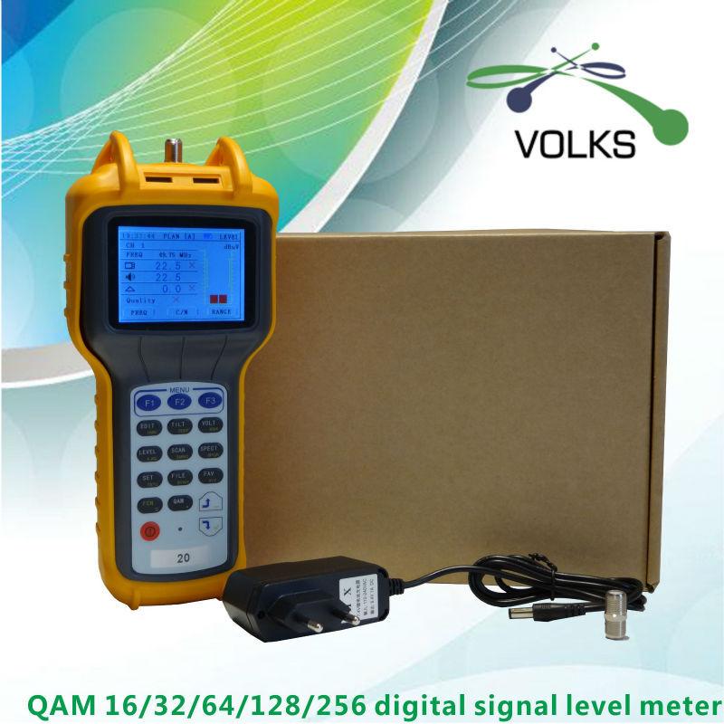 16/32/64/128/256 QAM digital signal level meter free shipping(China (Mainland))