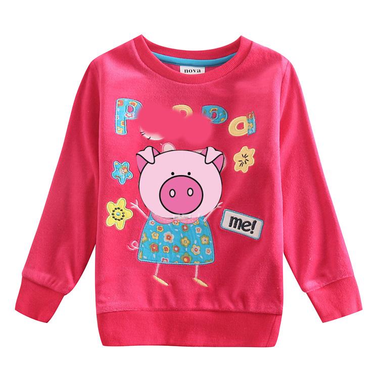 Children Girl t shirt Baby Girl Clothing Fashion Print T Shirt for Girls Spring Autumn Long Sleeve Casual T Shirt For Girl(China (Mainland))