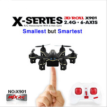 MJX X901 RC Quadcopter controller Remote Control Helicopter 2.4GHz 6 Axis RTF Mini pocket RC Drone with retail box vs cx10