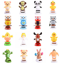 Home Table Decor Panda Owl Angel Solar Power Dancing Toy Plastic Crafts Event Party Supplies Favors Birthday Gift for Kids(China (Mainland))