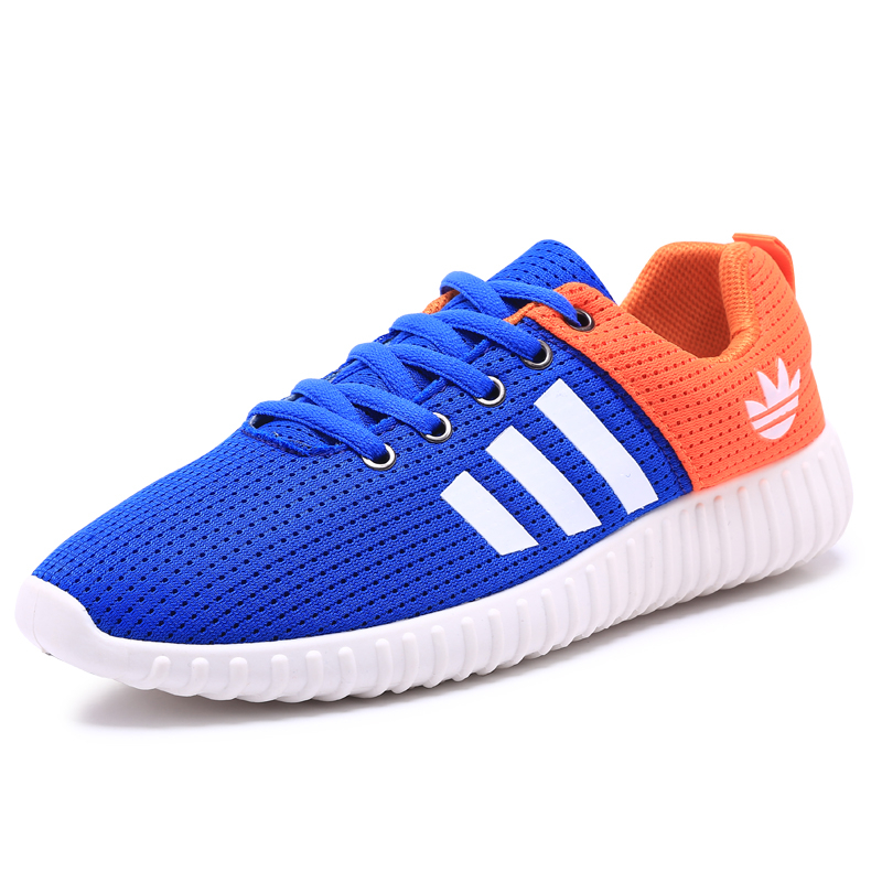 2017 new men's net breathable casual shoes quality men's spring and summer brand casual shoes no logo size 39-44 three-color(China (Mainland))
