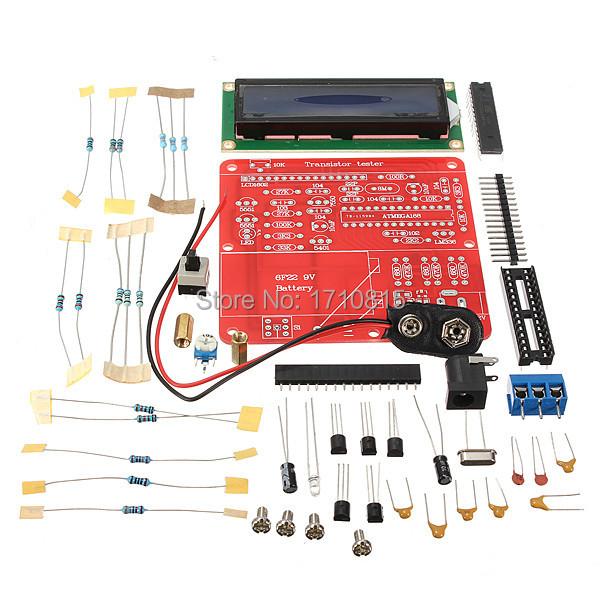 Гаджет  High Quality NPN PNP Mosfet DIY Kit Capacitance ESR Inductance Transistor LC Resistor Meter Tester M168 None Электронные компоненты и материалы