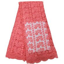 Buy High water soluble lace/ guipure chemical cord lace/ african cord lace fabric 5yards Free /ZG/314100 for $49.41 in AliExpress store
