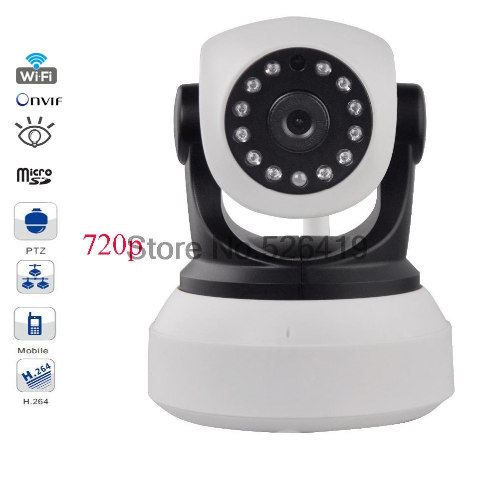 720P PTZ Ip Camera Wifi Wireless Intercom Camera CCTV IP Camera Robot Smart Webcam Camcorder Smart Home 2 WAY Audio 0HC-1502(China (Mainland))
