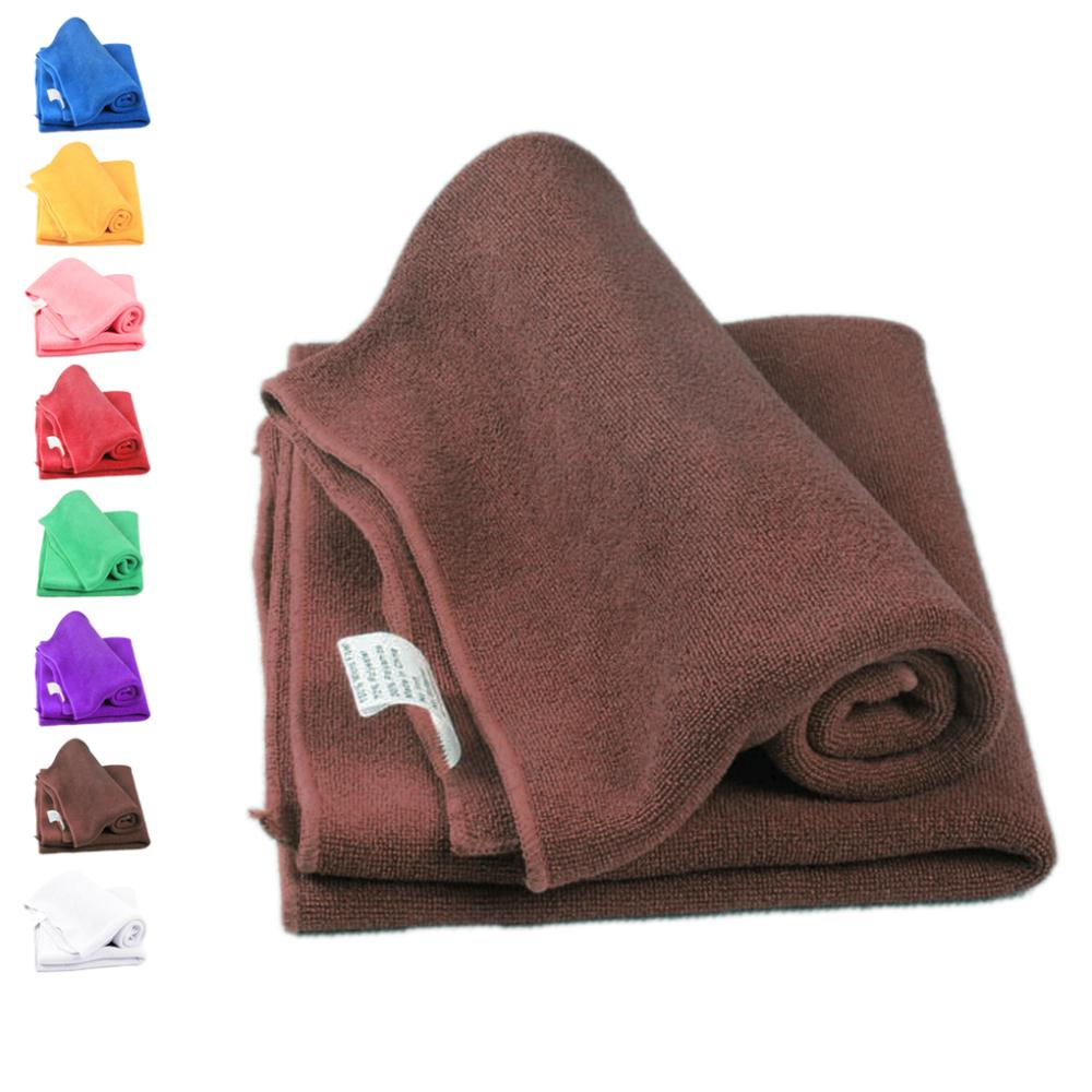 New 5PCS Soft Fiber Cotton Face/Hand Car vehicle Cloth Towel approx 30*30cm House Cleaning cloths 8 colors factory price JJ0720(China (Mainland))
