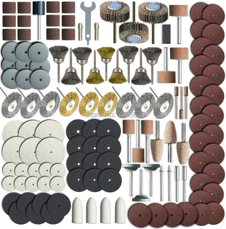 318 Piece Rotary Tool Accessory Set - Fits Dremel - Grinding, Sanding, Polishing dremel accessories dremel tools<br><br>Aliexpress