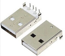 Buy 50Pcs/lot USB 2.0 Male Type USB PCB Connector Plug Right Angle 90 degree DIP Male USB Connectors for $3.13 in AliExpress store