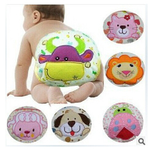 baby diapers briefs pure cotton cartoon animals print infant training pants cute baby waterproof underwear Y95(China (Mainland))