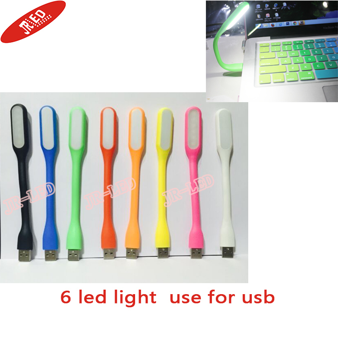 2015 New fashion Xiaomi Flexible USB LED Lamp portable lights 5V Power bank Computer Led - SHENZHEN JR-LED ELECTRONIC CO.,LTD store