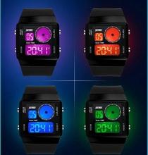 Buceo Skmei relojes hombres marca de lujo LED relojes deporte militar reloj genuino reloj de cuarzo hombres relojes de pulsera relogio masculino