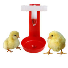1Pcs New Automatic Bird Coop Feed Poultry Chicken Fowl Drinker Water Drinking Cups Hanging Chicken For Beauty Tool(China (Mainland))
