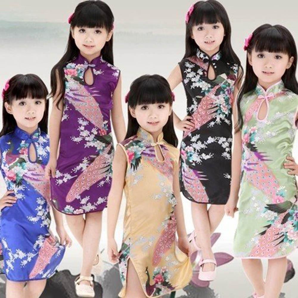 Платье для девочек Xx Cheongsam T Qipao 2/7