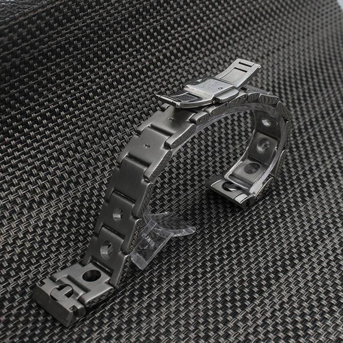 20 мм Серебряный 316L Нержавеющая Сталь Смотреть Полоса Ремешок Загнутым Концом Развертывания Застежка Пряжка Браслет Пояса