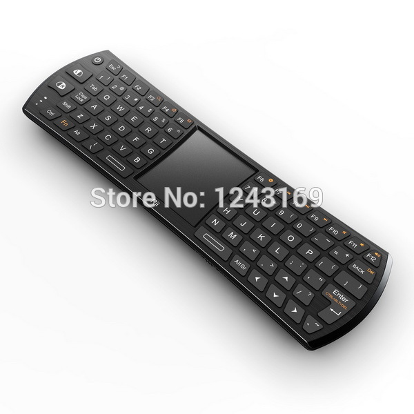 Hot Sale Rii Mini 2.4GHz Wireless Compact Handheld Keyboard Mouse Combo For TV BOX Mini PC Universal CN113(China (Mainland))