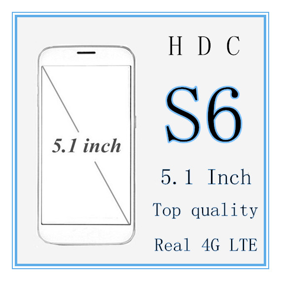 HDC S6 Phone 4G LTE MTK6592 S6 Octa core 3GB RAM 32GB ROM 5.1 inch 1280x720 Screen 3G GPS 8MP Android 5.0 Metal body with Case(China (Mainland))