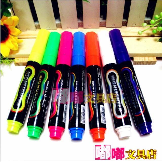 Mp4901 electronic board pen led electronic screen erasable neon pen electronic screen pop pen