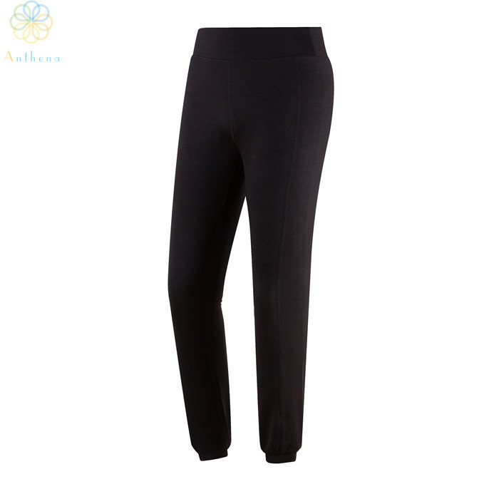 2016 Nylon/Polyester Women Thinken Sports Pants Capris Non-Fading Loose Running Trousers Yoga Jogging Gym Fitness Black Pants(China (Mainland))