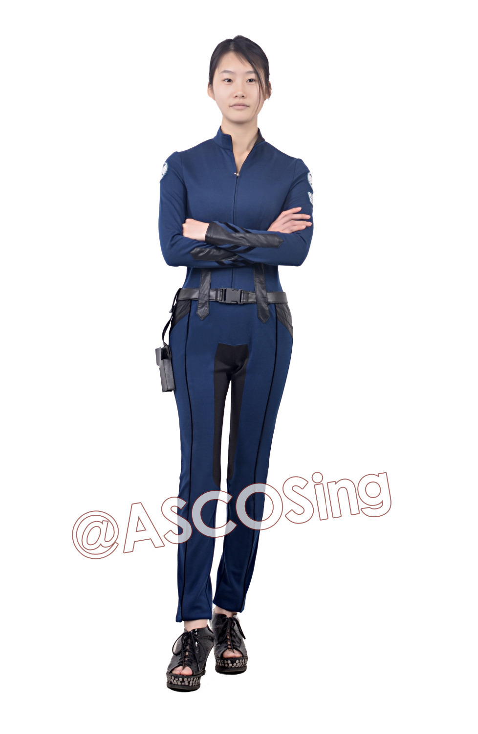 Shield Agents Uniform Maria Hill Shield Uniform