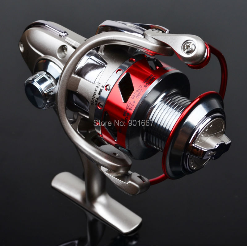 New P-roberos Full Metal Fishing Reels 12BB Ball Bearings Type Reel Anti seawater Left Right Hand Interchangeable Spinning Reel(Hong Kong)