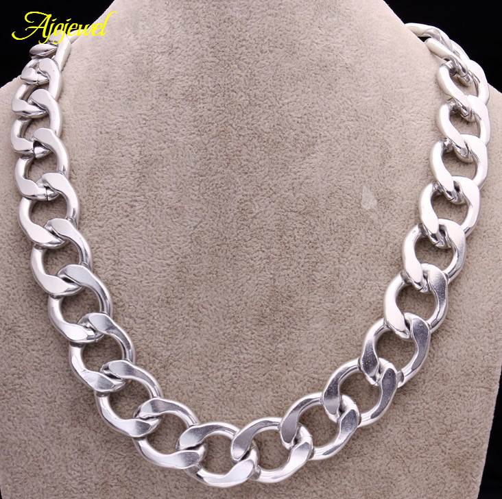 New Arrival Unisex Heavy Metal Link Chain Jewelry Men Chunky ...