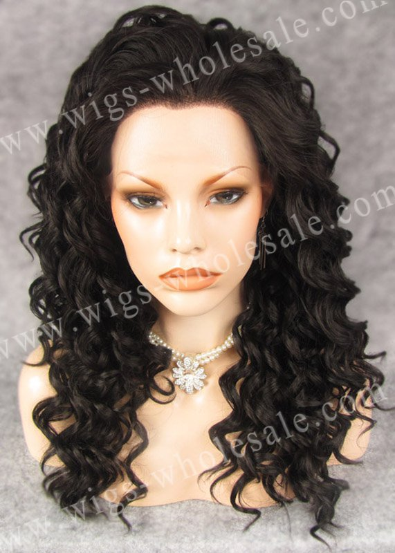 DHL  short  lace front wigs for black women synthetic  short curly brown N3-4<br><br>Aliexpress