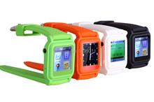 2014 электронная кнопка аварийного 8 ГБ mp4 часы мода mp4 часы электронная фото заднего вида для бесплатная доставка по почте