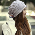 Fashion Winter Knitted Cap Hats For Women Men Casual Skullies Beanies Solid Color Hip hop Slouchy