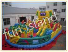 Customize giant inflatable jumping house,inflatable castle combo(China (Mainland))