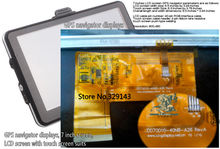 New 7 inch tablet LCD KD070D10-40NB-A26 LCD flat display panel Europe America Africa Asia Free shipping