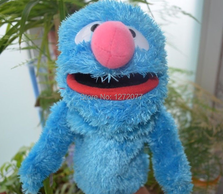 The Sesame Street Hand Puppet Baby Plush Toy,Cookie Monster Grover Free Shipping(China (Mainland))