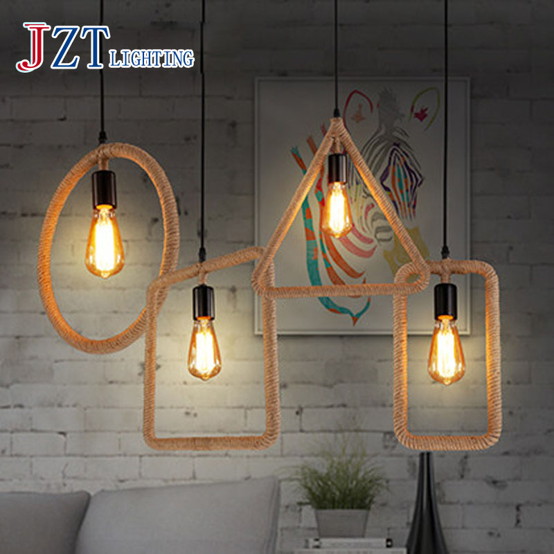 online kaufen gro handel seil lampe aus china seil lampe. Black Bedroom Furniture Sets. Home Design Ideas
