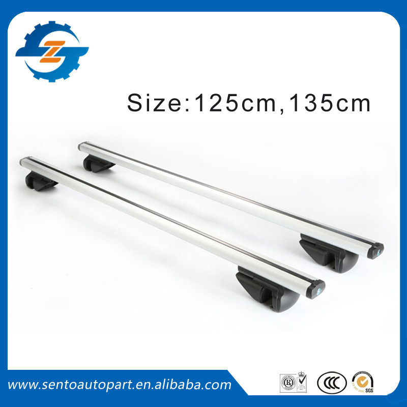 Universal aluminium Roof rack cross bar fit for SUV Car toyota/ nissan /qashqai /honda /rav4(China (Mainland))