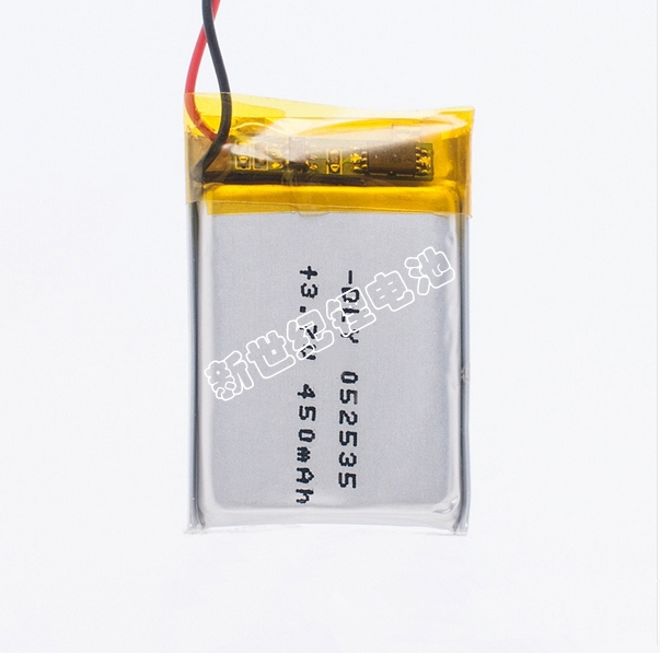 Free shipping 3 7V lithium polymer battery 052535 502535 MP4 MP5 DIY gifts toys 500MAH