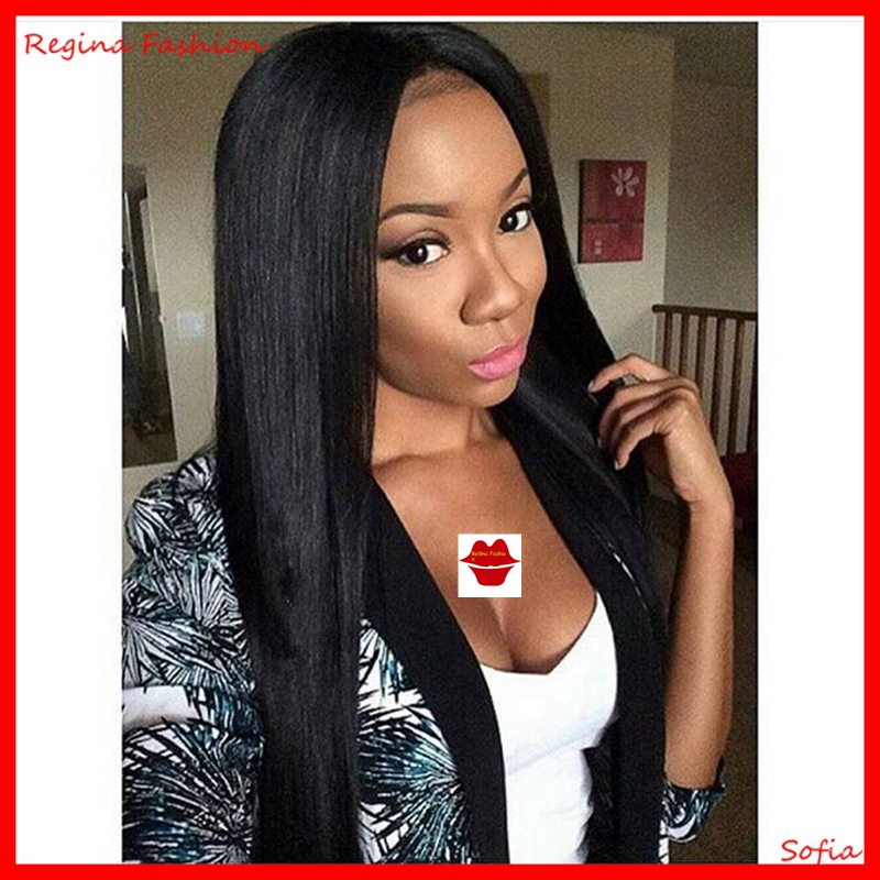 7A grade virgin brazilian hair glueless lace front human hair wig long black full lace wigs for women braided lace front wig<br><br>Aliexpress
