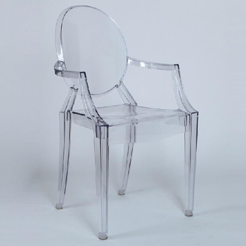Louis transparent plastic chair plastic chairs in plastic - Chaise plastique transparent ikea ...