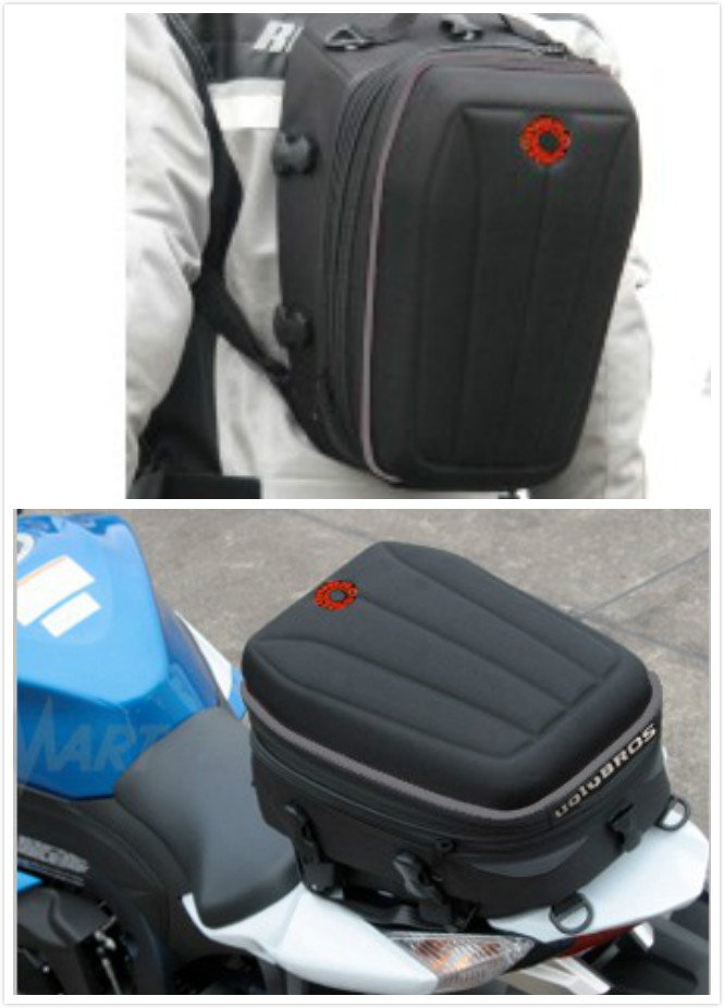 New Motorcycle Bag Top Case Free Shipping Uglybros Ubb07 Back Seat Backpack Outdoor Sports Multi-function(China (Mainland))