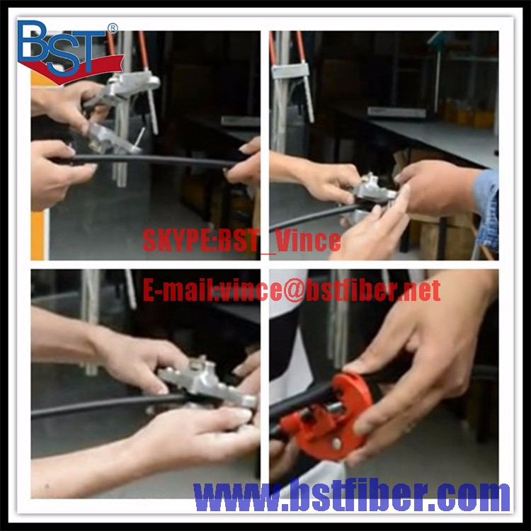 Buy Fiber Optic FTTH Tool Optical Cable Stripper Longitudinal Opening Knife Longitudinal Sheath Cable Slitter Fiber,Free Shipping cheap