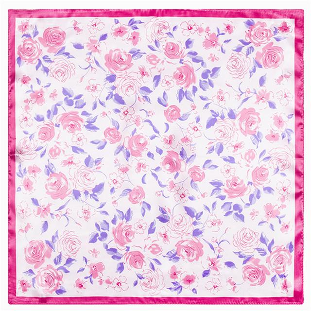 60 см * 60 см 2016 осень и зима новый корейской версии новой вата-цветные маленький цветочный шарф женщин возросла малый шарфы