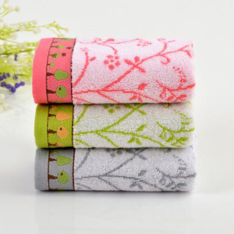 Men Women Pink Towels Green Gray Soft Bathroom Beach Wash Untwisted Bamboo Fiber Towels Washcloths 34*76cm Comfortable(China (Mainland))