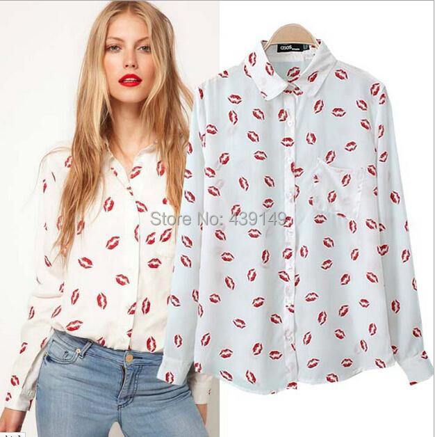 Женские блузки и Рубашки , Camisas s m L bLusa женские блузки и рубашки romantic beach blusa femininas2015 sh022