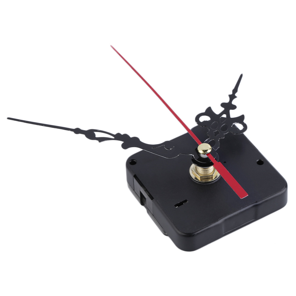 2016 NEW Mute Clock Movement Quartz Clock Mechanism Kit Spindle Mechanism Shaft 12mm with Hands Wholesale and Retail Stock Offer(China (Mainland))