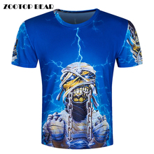 Buy 2016 New Skull 3D T-Shirt Men Funny T Shirts metallica t shirt Print Tops Hip Hop Camisa Short Sleeve Fashion Tees ZOOTOP BEAR for $7.62 in AliExpress store