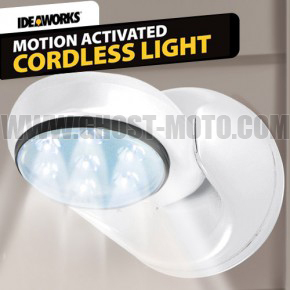 Free Shipping 1pcs/lot New LED Night Light 360 Degree Rotate Motion Sensor Cordless Lights Led lamp small wall lamp bed-lighting(China (Mainland))