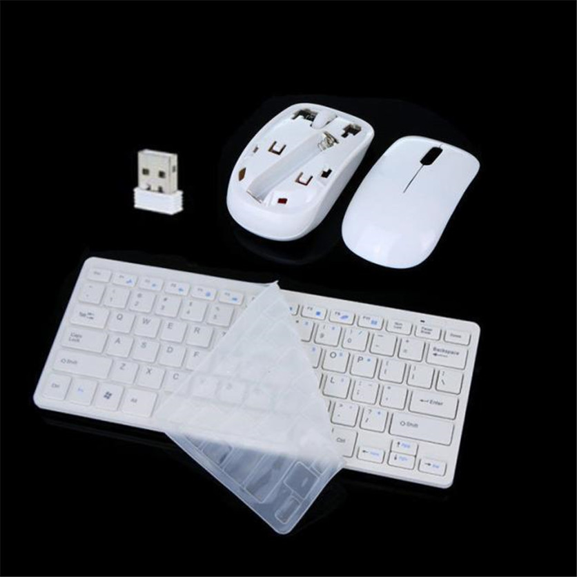 SimpleStone USB Cordless Wireless Mouse Mice and Keyboard Combo for PC Laptop MAC 60401(China (Mainland))
