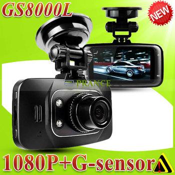 [Cheap] Car DVR 1080P Full HD Original GS8000L GS8000 Novatek Camera Recorder + Night Vision+Built in Mic+140 Degree Lens+HDMI
