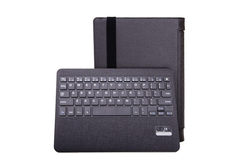 Russian keyboard Removable Bluetooth Keyboard PU leather Case Cover For Lenovo Yoga 10 HD B8080 B8080-f B8080H tablet Black case<br><br>Aliexpress