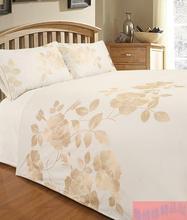 2015 new embroidery cotton bedding sets 1pcs 220x240cm quilt cover + 2pcs pillowcase 50x75cm(China (Mainland))